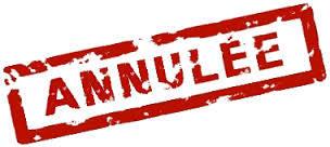 ANNULATION – Séance du conseil d'établissement du 21 janvier 2019