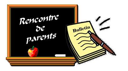 RENCONTRE DE PARENTS, DEUXIÈME BULLETIN