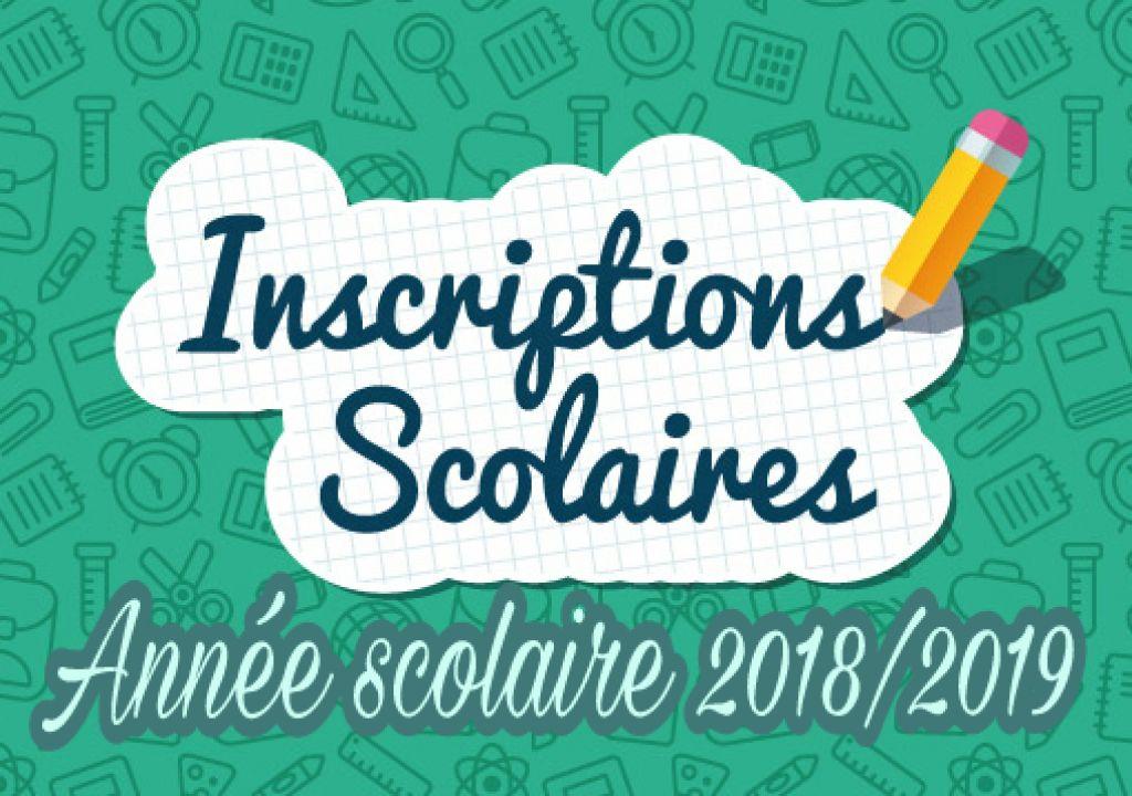 Inscriptions 2018-2019 pour les élèves de 6e année