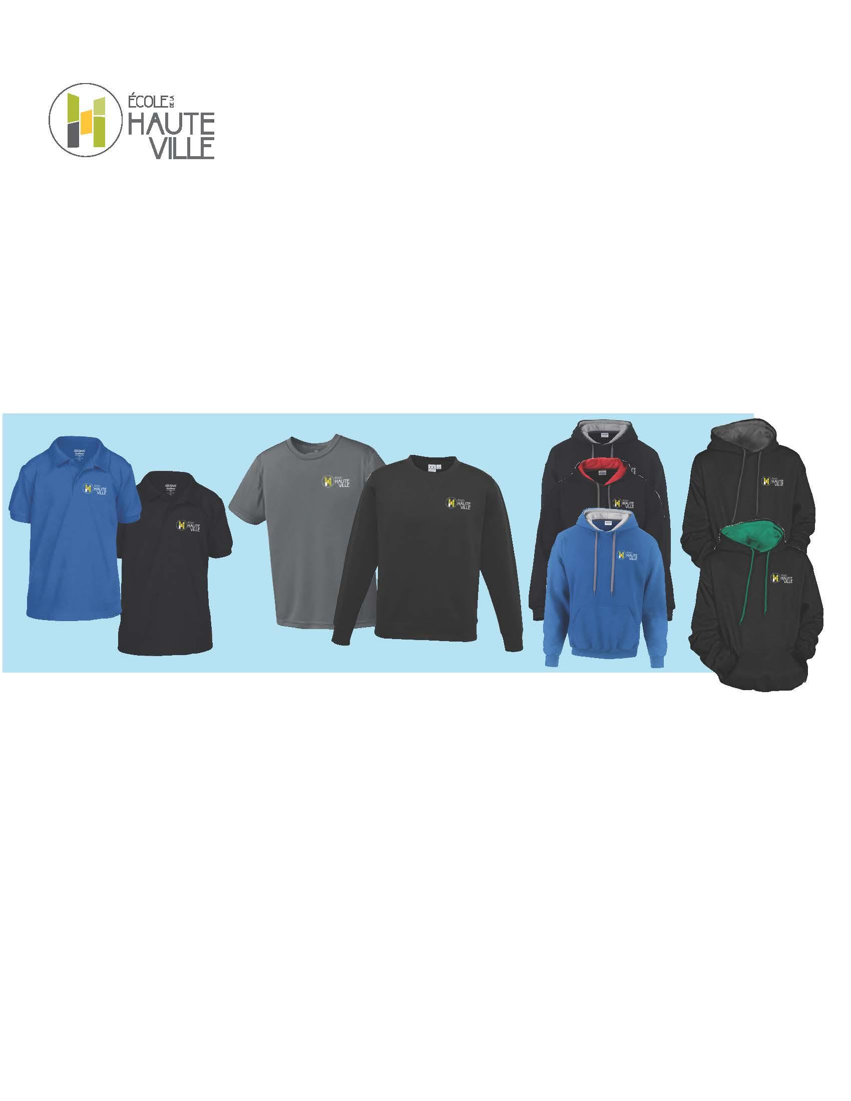 Achat des uniformes scolaires 2018-2019